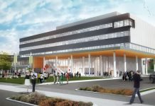 Wizualizacja projektu budynku urzędu miasta w Windsor. Zdjęcie dzięki uprzejmości firmy Moriyama & Teshima.