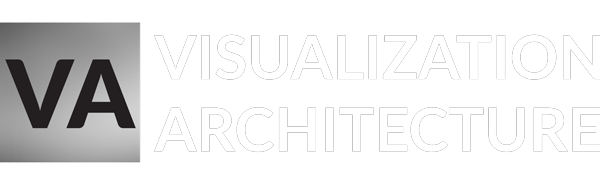 visualization architecture logo 600px white