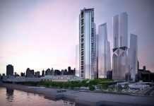 Zwycięski projekt dla Build New York Live opracowany od zera w 48 h. © WYG